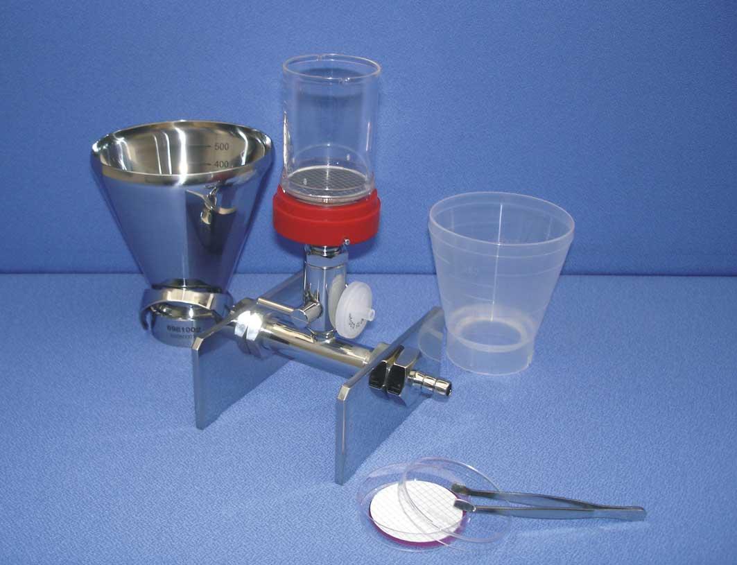 Combisart Sartorius Vacuum Filtration system multifunction
