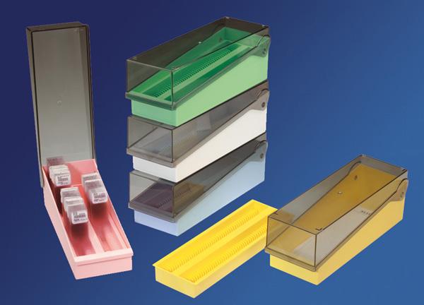 Bo te rangement lames boites de rangement pour lames microbiologie analyses et mesures - Boite de rangement verticale ...