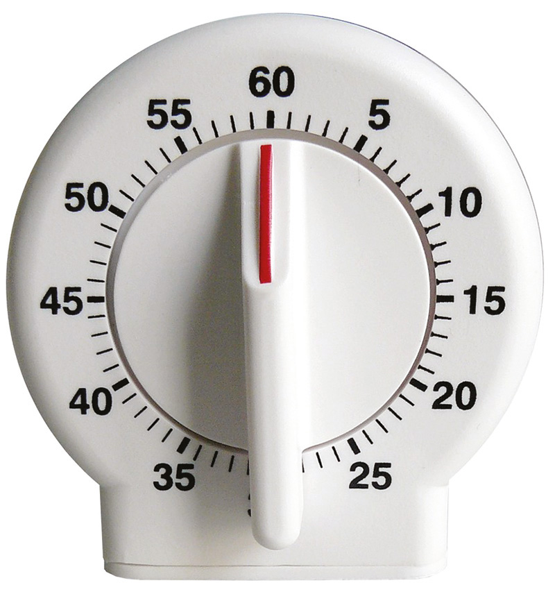 Minuteur m canique 120 minutes petits mat riels divers minuteurs compteurs chronom tres - Minuteur 10 minutes ...