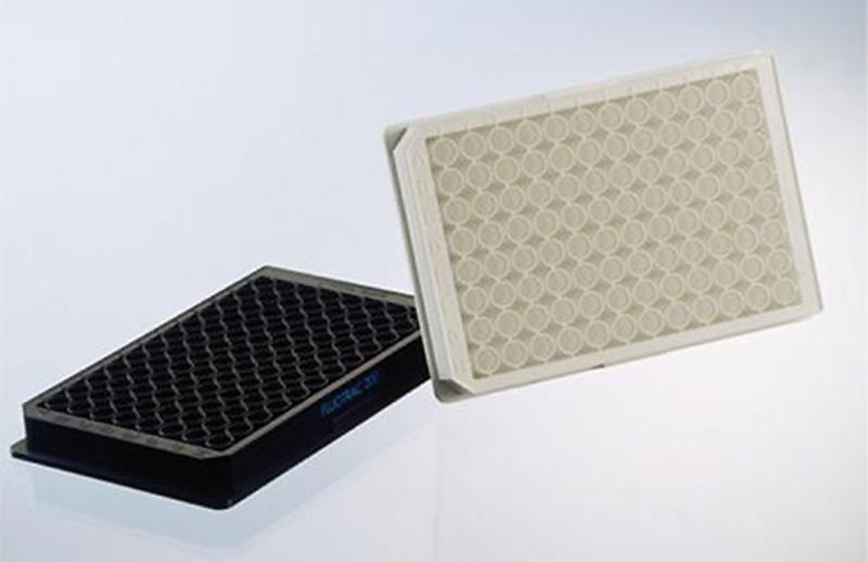 plaque polystyr ne 96 puits et demi puits noires blanches ou transparentes plaques screening. Black Bedroom Furniture Sets. Home Design Ideas