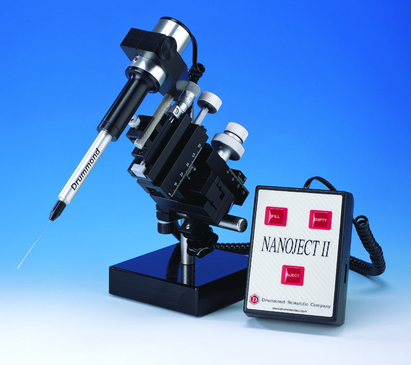 Micro-injector Nanoject - Micro-injector Drummond - Tips