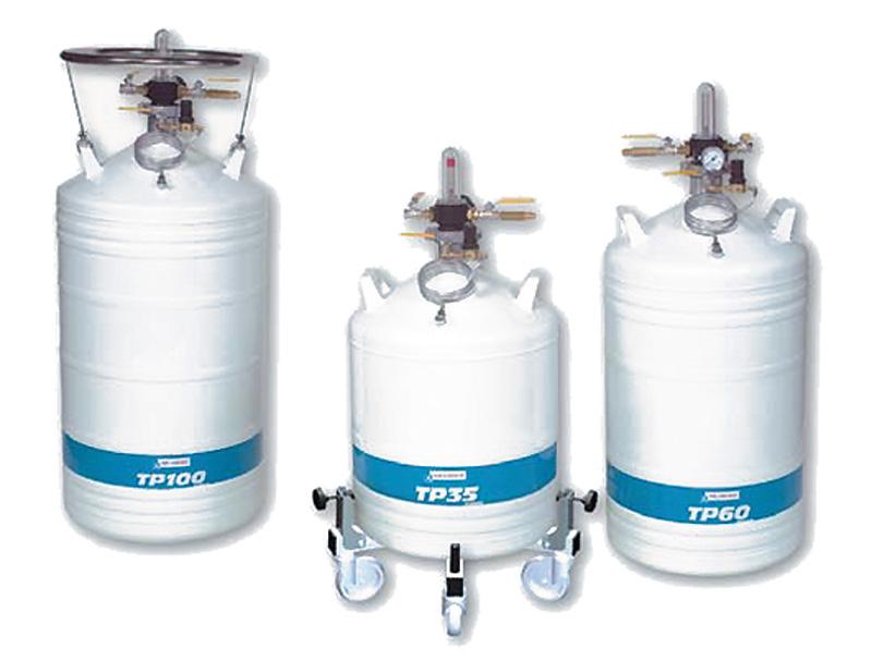 Pressurised Container Of Nitrogen Tp Air Liquide