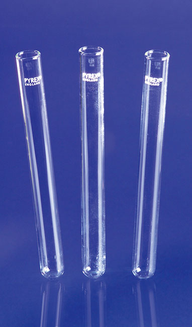 Pyrex test tubes with straight rim - Glass tubes - Glassware