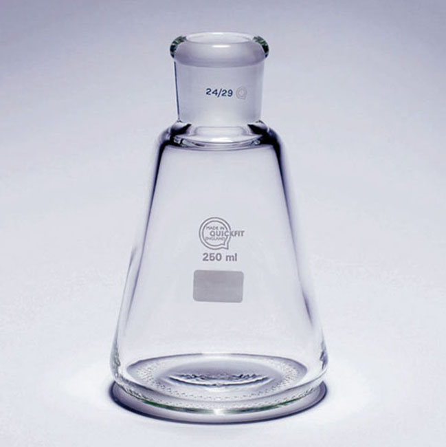 Conical flask for vacuum - Filtration supports - Glassware