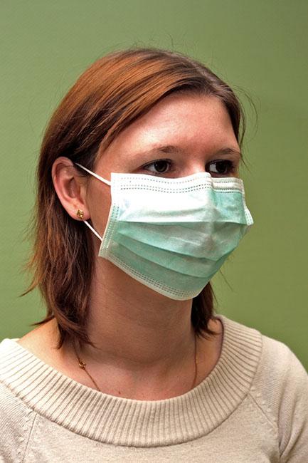 masque respiratoire 3 plis