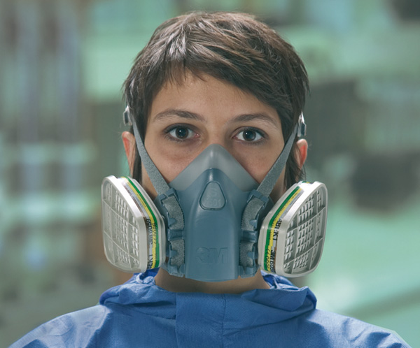 Reusable half-face protection masks 3M - Masks - Health and