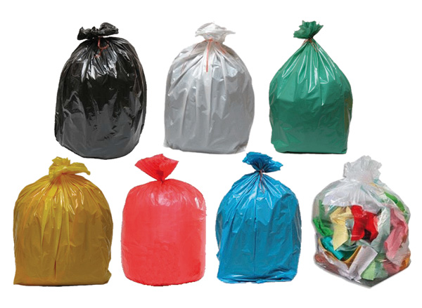 115d5e1cd3 Sacs poubelles polyéthylène basse ou haute densité - Sacs déchets ...