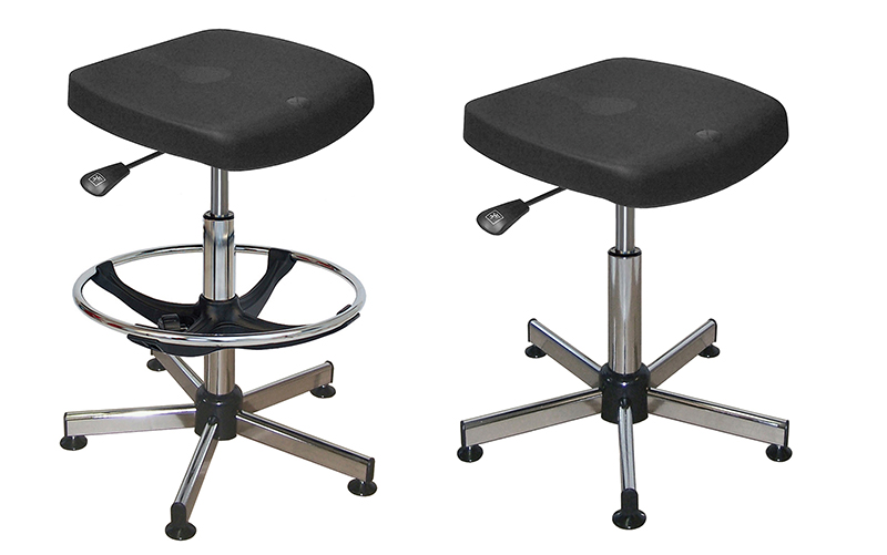 Sgabelli inclinabili chaises et tabourets de laboratoires igiene