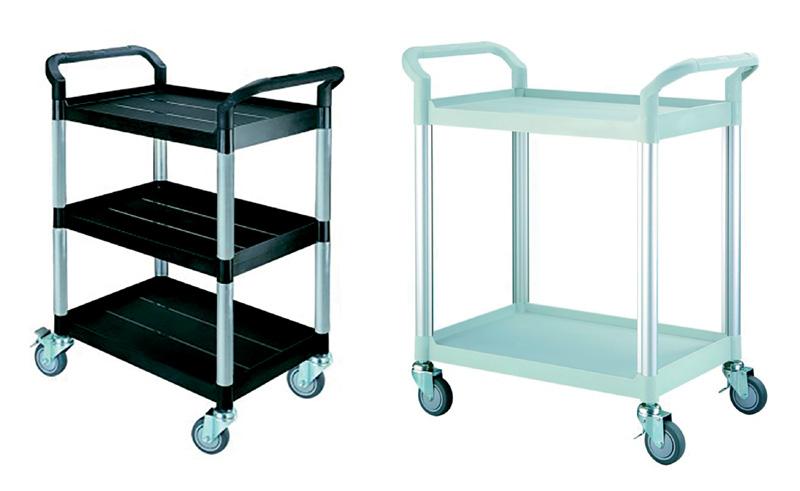 chariots polyvalents en plastique dessertes hygi ne s curit dominique dutscher. Black Bedroom Furniture Sets. Home Design Ideas