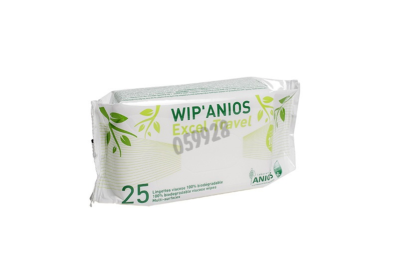 Wip'Anios Excel wipes - Disinfection / Cleaning - Health and