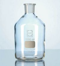 Duran glass bottle for liquid storage