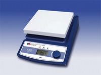 Magnetic hot plate stirrer with digital display
