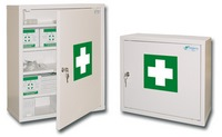 Wall pharmacy cabinets