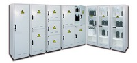 Modulable safety cabinet for the storage of chemicals